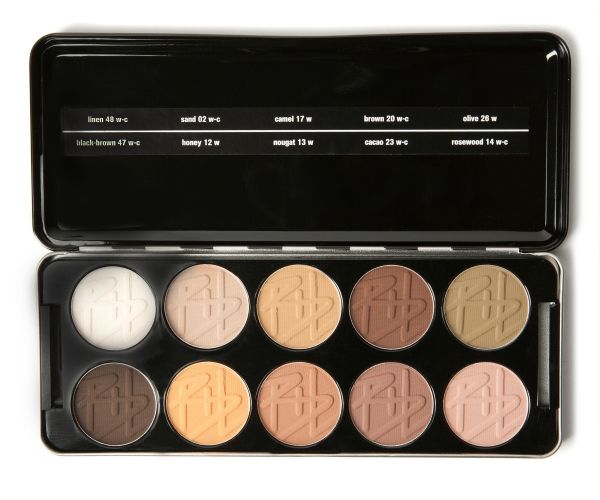 EYESHADOW PROFESSIONAL KIT WARM-MATTE
