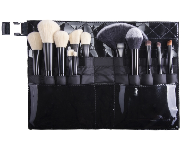 MAKE-UP-PINSELGÜRTELTASCHE